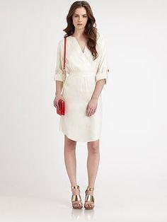 Milly - Adalyn Silk Blend Dress - Saks.com