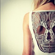 Lace skull . The Closet Cluster