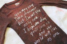 bleach-resist lyrics shirt