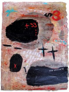 "Composición # 8  2012  Acrylic, charcoal, black gesso, synthetic polymer, graphite, archival newsprint on paper  24"" x 18"" inches - 61cm x 46cm. unframed"