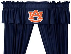 Use this Exclusive coupon code: PINFIVE to receive an additional 5% off the Auburn Tigers Drapes and Valance at SportsFansPlus.com