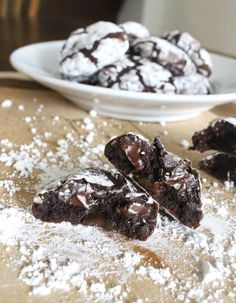 Chocolate Fudge Crinkle Cookies | Community Post: 20 Gluten-Free Desserts That Will Make You Swoon