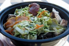 cha cha bowl Food & Games: AT&T Park  San Francisco, CA