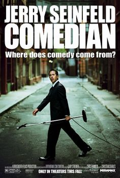 Comedian , starring Jerry Seinfeld, Chris Rock, Garry Shandling, Greg Giraldo. A look at the work of two stand-up comics, Jerry Seinfeld and a lesser-known newcomer, detailing the effort and frustration behind putting together a successful act and career while living a life on the road. #Documentary #Comedy