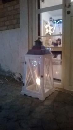 Dettaglio lanterna al temporary store