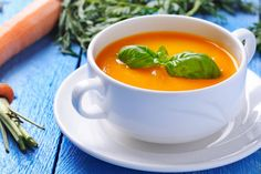 A Spicy Carrot Soup Recipe - Healthy Winter Comfort Food - Health Ambition Raw Vegan Recipes, Healthy Soup Recipes, Whole Food Recipes, Cooking Recipes, Spicy Carrots, Veggie Soup, Vegetable Seasoning, Turnip Soup, Healthy Recipes