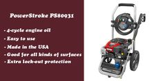 PowerStroke PS80931 a decent gas pressure washer