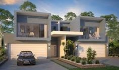 As a beginning real estate investor, once you get those first few rental homes in your portfolio… Almost inevitably, your next goal is to start buying multi-family properties, isn't it? Townhouse Designs, Duplex House Design, Modern House Design, Residential Architecture, Modern Architecture, Bungalows, Duplex House Plans, Villa, Facade Design