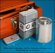 Silica Gel Dehumidifiers - Woodworking