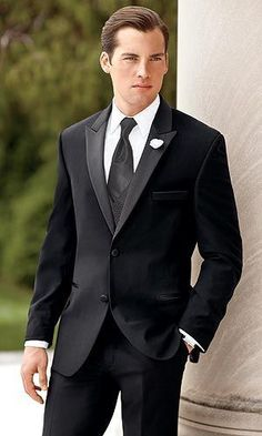 tuxedo for wedding suits groom wear black custom made suit men fashion dress high quality 2017 Black And Red Prom Suits, Big And Tall Suits, Black Suit Wedding, Tuxedo Wedding, Wedding Suits, Wedding Tuxedos, Chic Wedding, Slim Fit Tuxedo, Tuxedo Suit