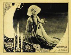 Alla Nazimova in Salome, 1923