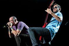 Linkin Park in concerto a Milano il 10 giugno 2014.  Dopo 10 anni di assenza dalle scene meneghine torna in concerto a Milano il gruppo alternative rock americano dei Linkin Park.  #LinkinPark #Concerto #Milano