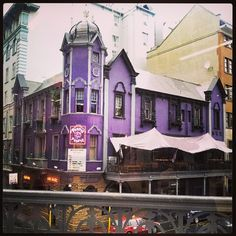 Purple Turtle. Cape Town city center.