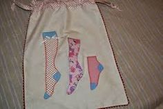 Risultati immagini per bolsas de patchwork para ropa interior