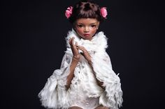 porcelain art doll by Irina Lumiere