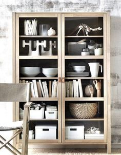 Björksnäs la collection Ikea arrive en octobre - PLANETE DECO a homes world - - Ikea Inspiration, Interior Inspiration, Cabinet Of Curiosities, Interior Decorating, Interior Design, Interior Colors, Built In Bookcase, Bookcases, Wooden Cabinets