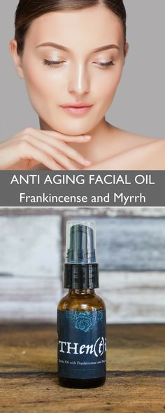 Jojoba oil is high in Vitamin E, B complex and Iodine, helps you balance your sebum levels, and naturally slows down signs of aging. Paired with Frankincense and Myrrh, two essential oils that protect skin cells, tightens sagging skin and improves tone and elasticity. SHOP anti aging natural skin care products at https://www.othentik.co/collections/skin-care/products/anti-aging-face-oil-frankincense-and-myrrh-organic-serum