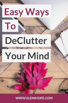 5 brilliant and easy tips to break through the clutter and noise mentally, so that you can be productive, achieve your goals for the day, and find peace by relieving stress. Improve Yourself, Finding Yourself, Declutter Your Mind, Life Coaching Tools, Coaching Quotes, Stress Relief Tips, Design Your Life, Clear Your Mind, Feeling Stuck