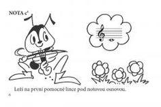 Obrázek:V.Pospíšilová, M.Vozar - Učíme se noty znát Charlie Brown, Fictional Characters, Lynx, Fantasy Characters