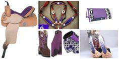 purple barrel racing tack, I WANT ALL OF IT!!!