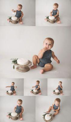 First Birthday Milestone Photos 1st Birthday Photoshoot, Baby Boy 1st Birthday Party, 1st Birthday Cake Smash, 1st Birthday Outfit Boy, Baby Outfits For Boys, Baby Boys, Baby Cake Smash, Baby Boy Cakes, Cake Smash Outfit Boy