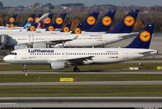 Lufthansa Airbus A320-211 @ MUC