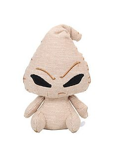 "<p>Oogie Boogie is given a slouchy posture and frustrated look as an adorable collectible plush Mopeez!</p><ul>	<li><span id=""bullet0"">Approx. 4 1/2"" tall </span><span id=""bullet0Span"">  </span></li>	<li><span id=""bullet1"">Polyester fibers; plastic pellets </span><span id=""bullet1Span"">  </span></li>	<li><span id=""bullet2"">Imported </span></li></ul>"