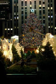 NYC in Christmas time, Rockfeller Center