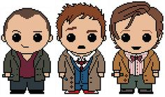 Doctor Who: Doctor 3 Pack (Nine, Ten, and Eleven) PDF Chart Cross Stitch Patterns