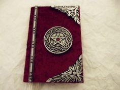Hand crafted ...BOOK OF SHADOWS...Spell book...Wiccan journal. $45.00, via Etsy.