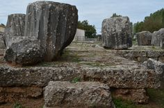 Temple of Athena Alea- Ancient Tegea 10 Picture, The Good Old Days, Planet Earth, Vintage Photos, Garden Sculpture, Planets, Temple, Greece, Around The Worlds