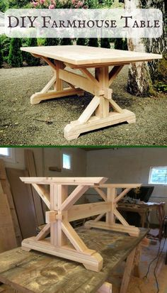 Hey everyone! These farmhouse are perfect for the farmhouse table farmhouse kitchen farmhouse decor farmhouse table diy farmhouse table centerpiece farmhouse table decor farmhouse table plans f Farmhouse Table Plans, Farmhouse Kitchen Tables, Farmhouse Furniture, Diy Furniture, Farmhouse Decor, Farm Table Plans, Diy Kitchen, Furniture Plans, Trestle Table Plans