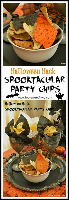 Halloween Hack: Spooktacular Party Chips
