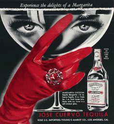 Jose Cuervo y su publicidad de 1962.
