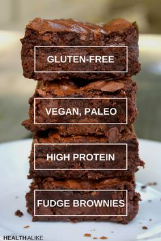 The brownies are a great idea if you are on a low-carb or paleo diet. They are packed with protein, nut butter and bananas. Being mostly banana and butter, they make a great breakfast on the go!
