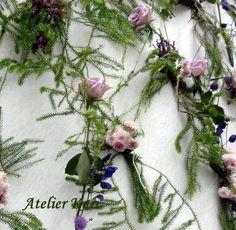 Floral Wreath, Decorations, Wreaths, Nature, Flowers, Home Decor, Atelier, Floral Crown, Naturaleza