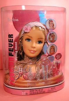 Barbie Fashion Fever Styling Head