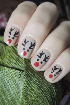 Super ideas for holiday nails new years happy - Christmas nails Xmas Nail Art, Christmas Gel Nails, Christmas Nail Designs, Holiday Nails, Snowman Nail Art, Cute Acrylic Nails, Cute Nails, Nagellack Design, Stylish Nails