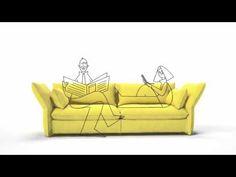 Vitra Mariposa Sofa - YouTube