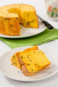 Pumpkin Chiffon Cake (Light and healthy) - Christine's Recipes: Easy Chinese Recipes   Easy Recipes
