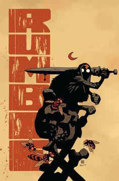 RUMBLE #1 CVR B MIGNOLA & STEWART (MR) 12/13/2017 #characterdesign