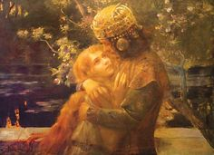 Gaston Bussiere - 'Tristan and Iseult'