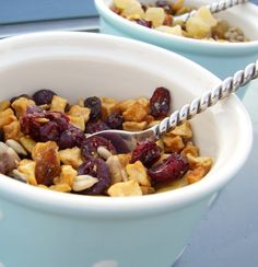 This isn't really a recipe, but boy does it look yummy.  I can make it a recipe by adding it to my cream of rice cereal in the morning and making it hearty.  I LOVE Starbuck's oatmeal, but I can't have oats, so this looks to be a great alternative to add to my cream of rice!