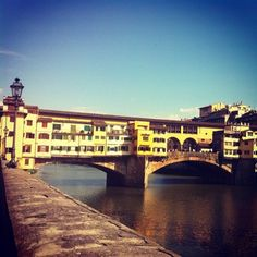 Ponte Vecchio, #Florence #Italy  - a must see when in Florence