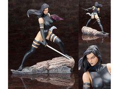 Marvel Comics - Psylocke X Force Fine Art Statue, Kollectable Kaos