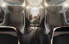 Business Seat Stelia Project on Behance