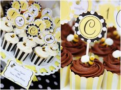 bumble bee party   our sweet customer becca recently used our bumble bee party collection ...