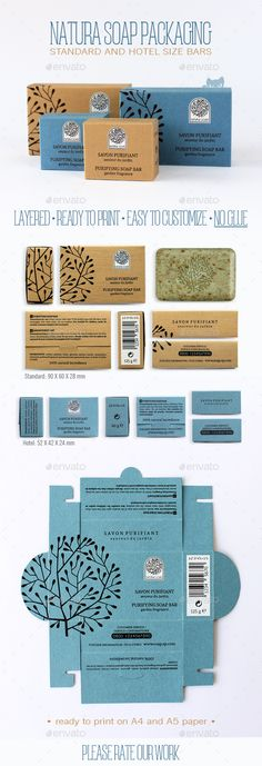 Awesome packaging is essential for an indie beauty brand. I just love this simple, clean and stunning soap packaging from Natura Soap Handmade Soap Packaging, Packaging Box, Handmade Soaps, Packaging Design, Organic Packaging, Paper Packaging, Beauty Packaging, Product Packaging, Shampoo Diy