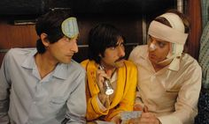 The Darjeeling Limited:Adrien Brody, Jason Schwartzman, and Owen Wilson