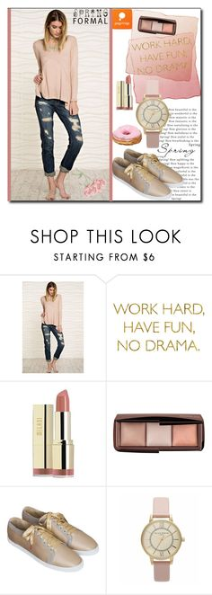 """POPMAP  86. / II"" by esma178 ❤ liked on Polyvore featuring Milani, Hourglass Cosmetics and popmap"